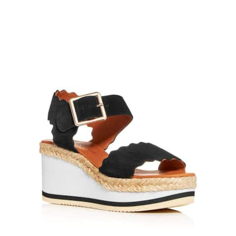 André Assous Womens Carla Fabric Open Toe Special Occasion Platform Sandals - 10