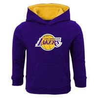 Outerstuff Lakers Baby Pullover Sweatshirt with Hood, 2T - Purple