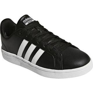 outlet store 2d3a3 f248f adidas Womens NEO Cloudfoam Advantage Stripe Court Shoe Core BlackFTWR  WhiteCore Black