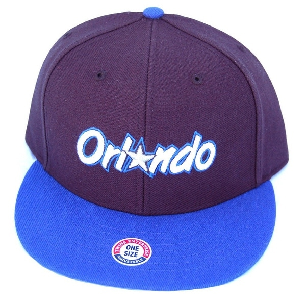 the latest 5ddff 94d4a Shop NBA Orlando Magic Snapback Adjustable Baseball Cap - Free Shipping On  Orders Over  45 - Overstock - 21797631