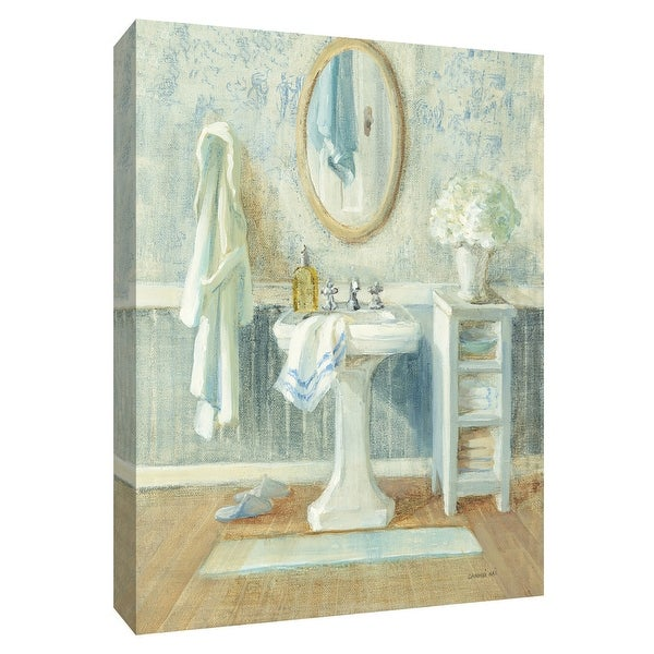 "PTM Images 9-154786 PTM Canvas Collection 10"" x 8"" - ""Victorian Sink II"" Giclee Toiletries Art Print on Canvas"