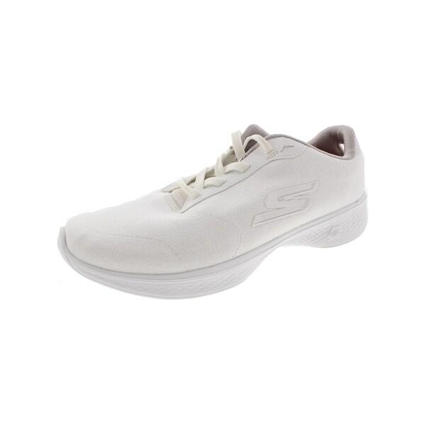 77c76e1cb1b8 Shop Skechers Womens Go Walk 4 Premier Walking Shoes Textured Casual ...
