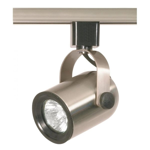 Nuvo Lighting TH317 Single Light MR16 120V Round Back Track Head - Brushed nickel - N/A