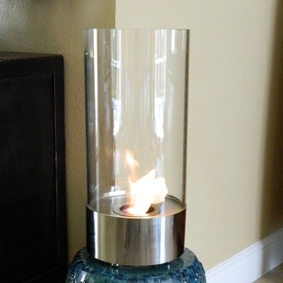 Nu Flame Cristallo Stunning Tabletop Fire Cylinder