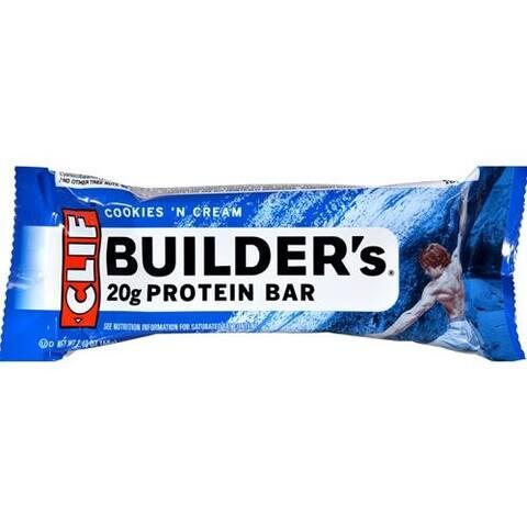 Clif Bar - Clif Builder's Cookies N Cream Bar ( 12 - 2.4 OZ)