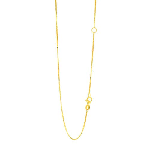 4887e8572f2e6 Buy Adjustable Length, Yellow Gold Chains & Necklaces Online at ...