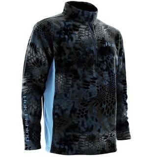 Huk Men's Kryptek Fleece XX-Large Neptune 1/4 Zip Sweater
