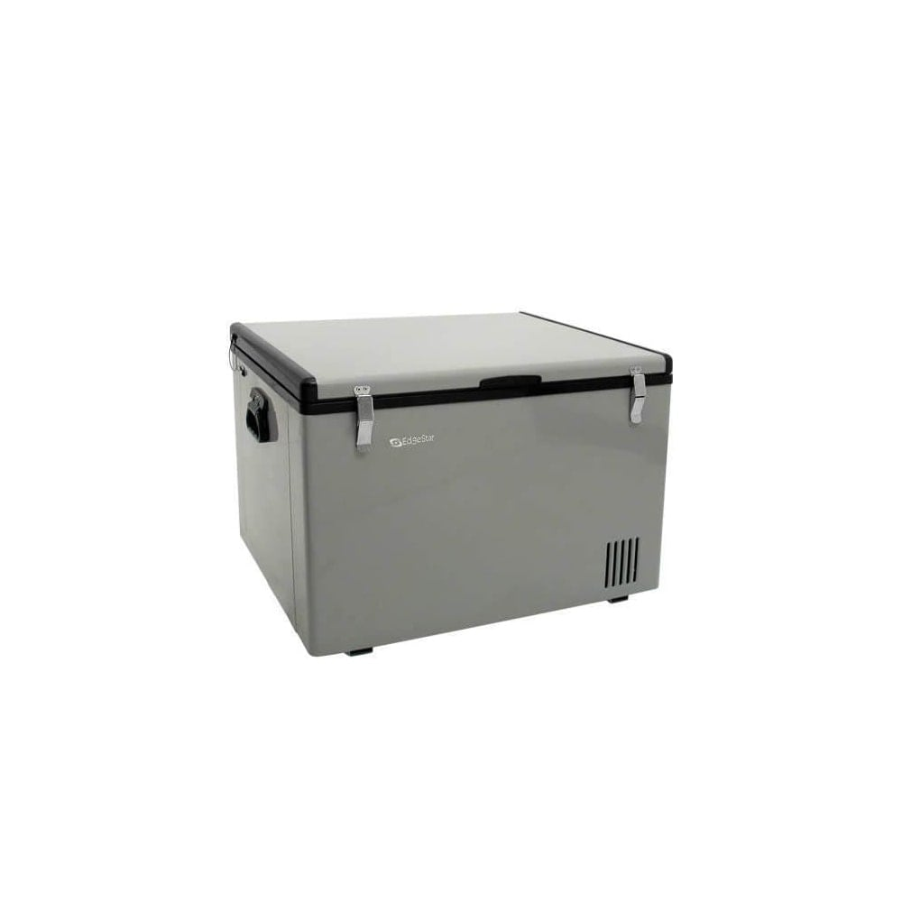 EdgeStar FP630 28in Wide 2 1 Cu  Ft  Portable Fridge/Freezer with 12V DC  Power Capability - Grey