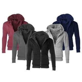 Link to Men's Heavyweight Sherpa-Lined Fleece Hoodies Similar Items in Tops