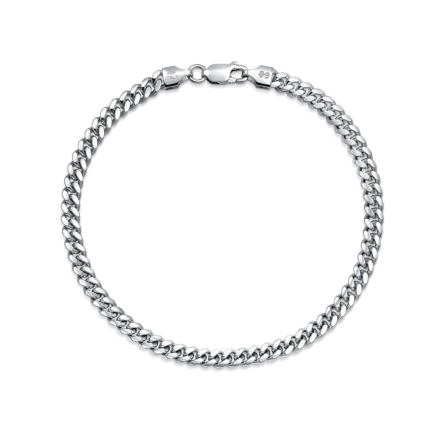 Sterling Silver Men S Bracelets Online At Our Best Jewelry Deals
