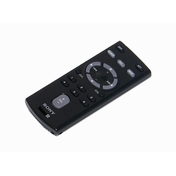 OEM Sony Remote Control Originally Shipped With: CDXGT35U, CDX-GT35U, CDXGT35UW, CDX-GT35UW, CDXGT400, CDX-GT400