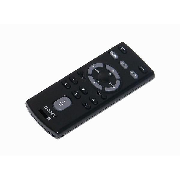 OEM Sony Remote Control Originally Shipped With: CDXH910UIMP, CDX-H910UIMP, CDXHS70MS, CDX-HS70MS, CDXHS70MW, CDX-HS70MW