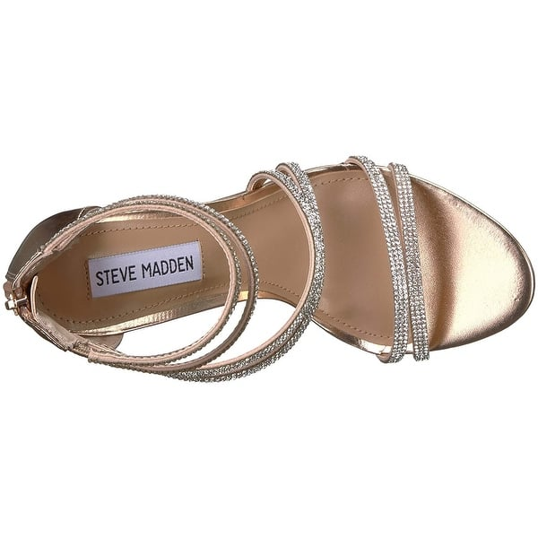 af5cde44d35 Shop Steve Madden Womens Sweetest Open Toe Special Occasion Ankle ...