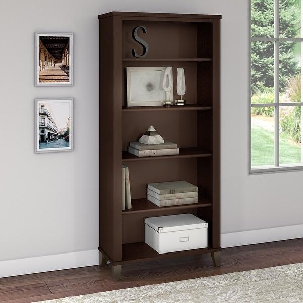 Copper Grove Shumen 5-shelf Bookcase. Opens flyout.