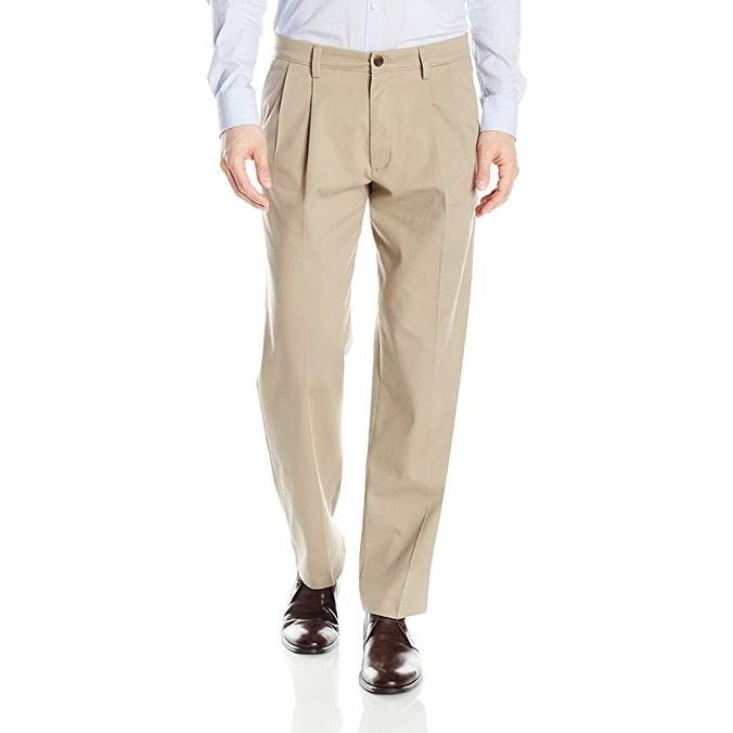 Dockers Mens Easy Khaki Classic Fit Stretch Pant D3