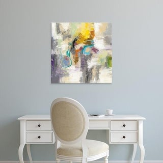 Easy Art Prints Silvia Vassileva's 'Abstract Square' Premium Canvas Art