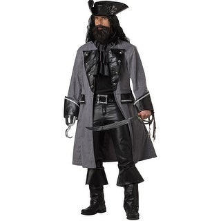 Men's Blackbeard Costume, Men's Pirate Costume