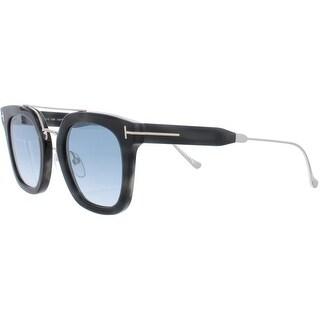 Link to Tom Ford Womens Alex Rectangle Sunglasses Navigator Signature - O/S Similar Items in Women's Sunglasses