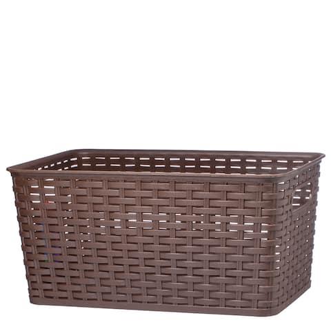 "Raton Basket Big 15 7/8 x 10 x 7 1/2 ""-Brown - 15 7/8 x 10 x 7 1/2 """