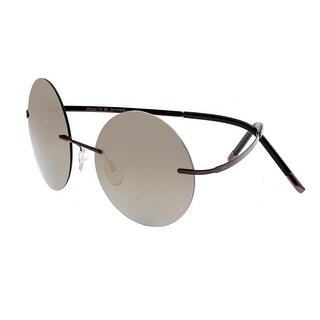 Breed Bellatrix Men's Titanium Sunglasses - 100% UVA/UVB Prorection - Polarized/Mirrored Lens - Multi