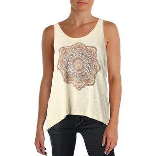Project Social T Womens Tank Top Printed Burnout