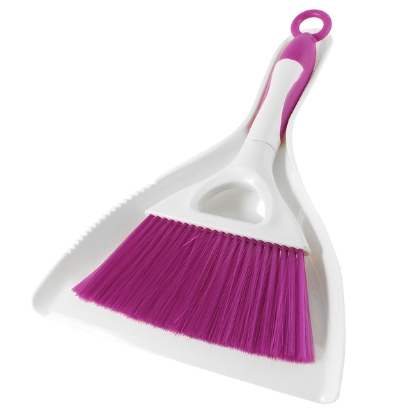 Shop beige purple plastic handle floor sawdust sweep mini