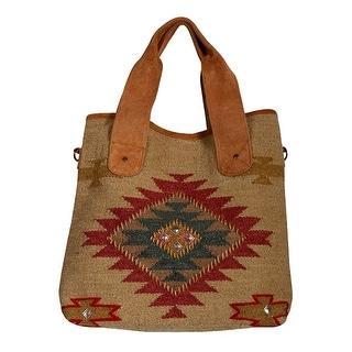 "Scully Western Handbag Women Magnetic Snap 17.5"" x 16"" x 5"" Multi B171 - multi-color - 17.5"" x 16"" x 5"""