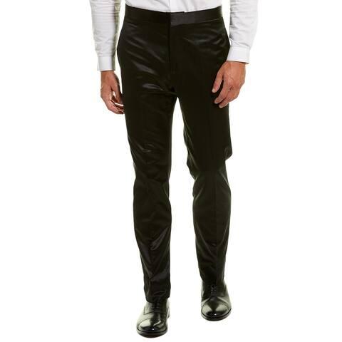 Versace Silk-Blend Dress Pant - 50
