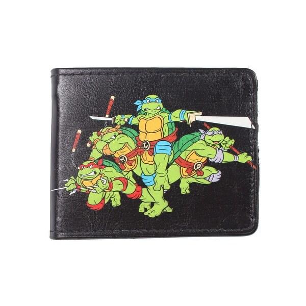 """TMNT Teenage Mutant Ninja Turtles """"World 84 Tour"""" Bi-Fold Wallet - One Size Fits most"""