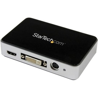 StarTech USB3HDCAP StarTech.com USB 3.0 Video Capture Device - HDMI / DVI / VGA / Component HD Video Recorder - 1080p 60fps -