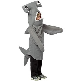 Rasta Imposta Hammerhead Shark Toddler Costume - Grey