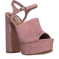 Steve Madden Studio Platform Sandals, Mauve - 8 us