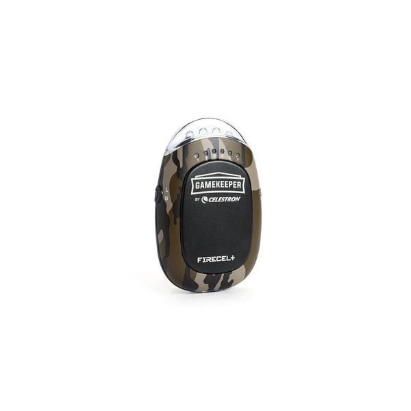Celestron 93549 Gamekeeper FireCel+ w/ Portable Power Bank, LED Flashlight Hand Warmer