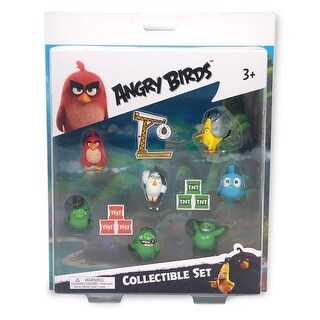 Angry Birds Movie 7-Piece Mini Figure Multi Pack: Set B