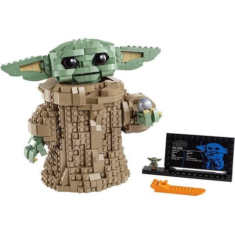 Lego 75318 StarWars TheMandalorian The Child BuildingKit, 1,073 Pieces
