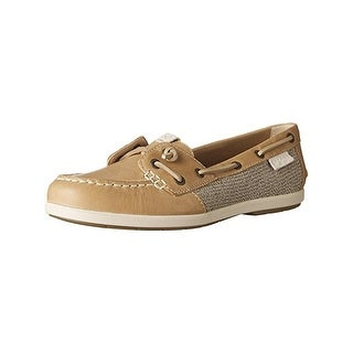Sperry Womens Coil Ivy Boat Shoes Canvas Casual