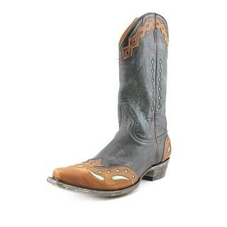 "Old Gringo Monaco 12"" Men Square Toe Leather Western Boot"