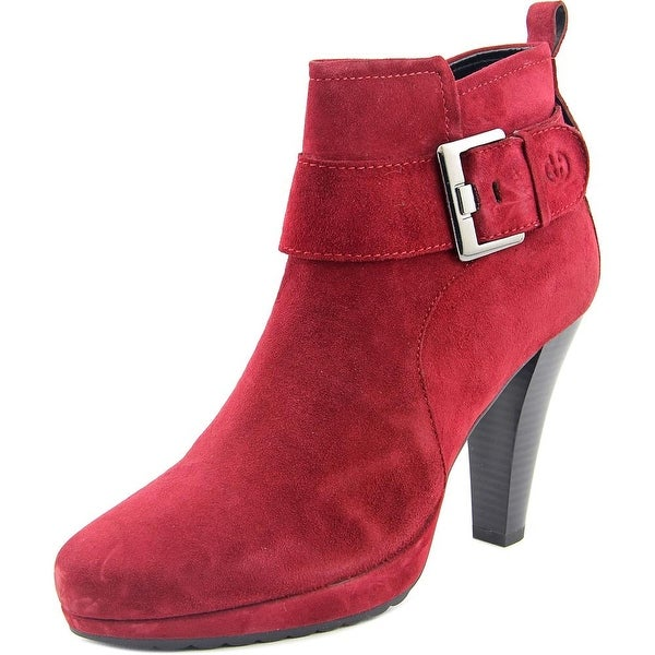 Gerry Weber Liliana 12 Round Toe Suede Ankle Boot