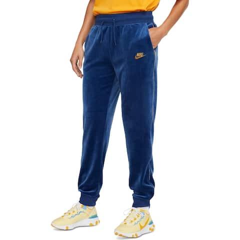 Nike Womens Jogger Pants Velour Sweatpants