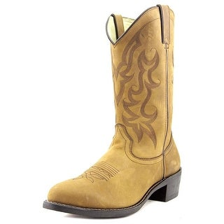 Durango Western Men  Round Toe Synthetic Brown Western Boot