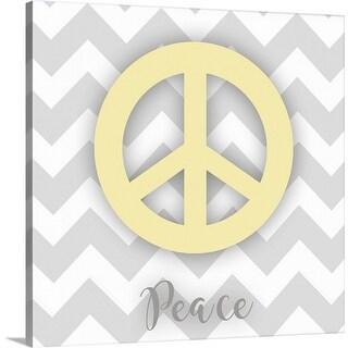 """Peace"" Canvas Wall Art"