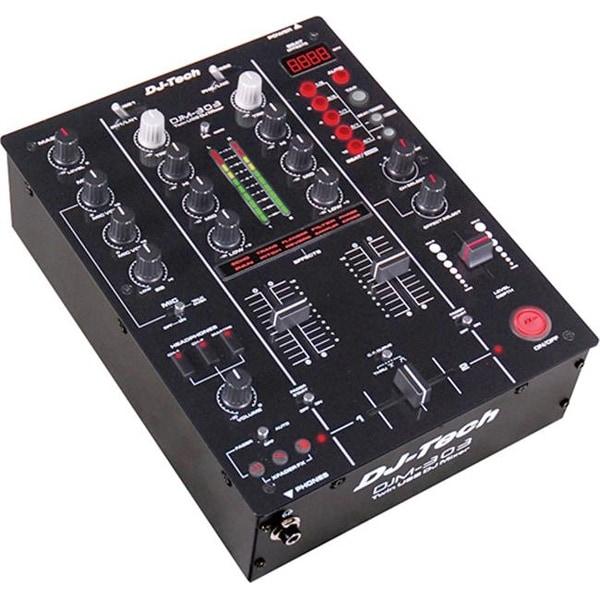 FIRST AUDIO MANUFACTURING DJM303 Twin USB DJ Mixer - Black