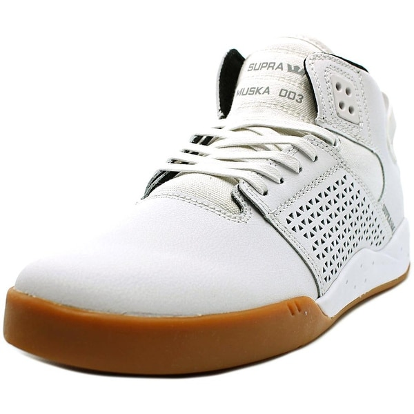 Supra Skytop III Men White/Gum Sneakers Shoes