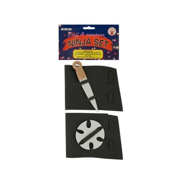 Bulk Buys PC001-48 Ninja Weapon Cuffs Set, Pack of 48