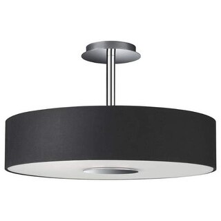 Philips 3748148 3 Light Semi-Flush Ceiling Fixture from the Dani Collection