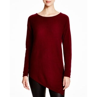 Private Label Womens Sweater Cashmere Asymmetric-Hem