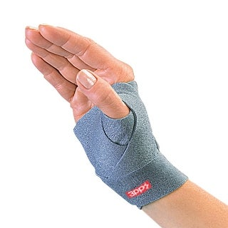 Unisex-Adult 3Pp Thumsling Soft Wrap Adjustable Thumb Splint - Medium/Large Right