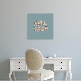 Easy Art Prints 'Hell Yeah' Premium Canvas Art