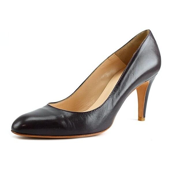 Atelier Mercadal M1250 Round Toe Leather Heels