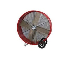 "MaxxAir BF36DD Direct Drive Barrel Fan, 36"", Red"